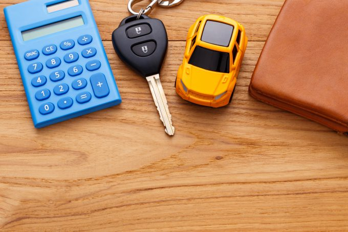 Calculator Car Keys