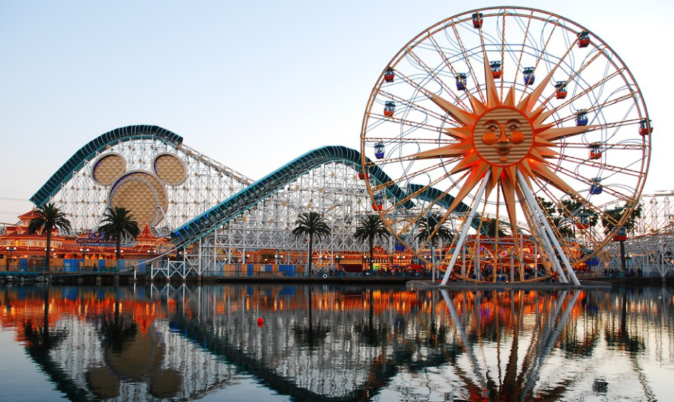 California Adventure In Anaheim CA