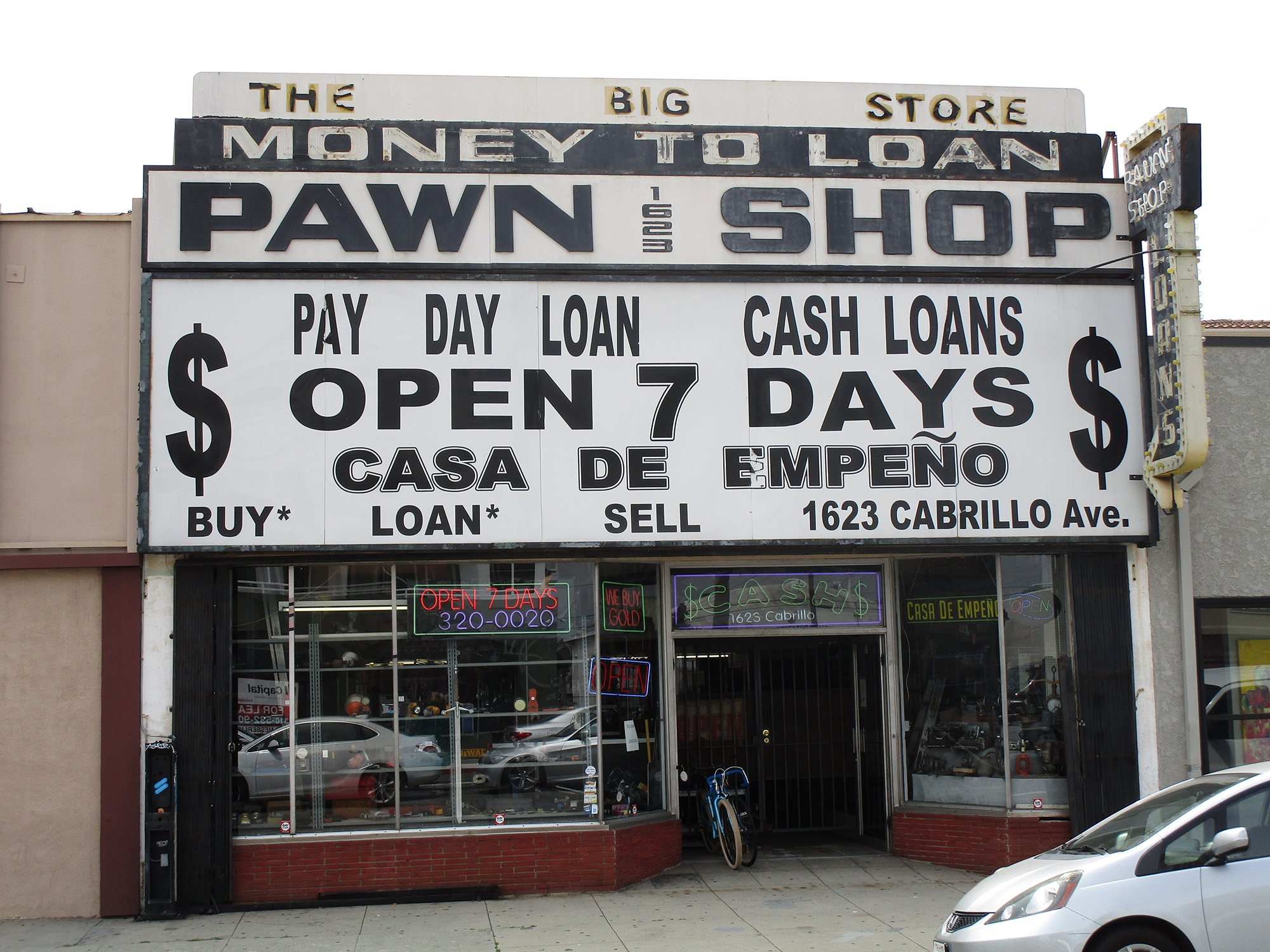 Point Pawn Cabrillo Ave